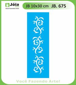 Stencil JB 675