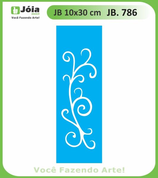 Stencil JB 786