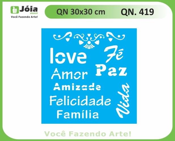 Stencil QN 419
