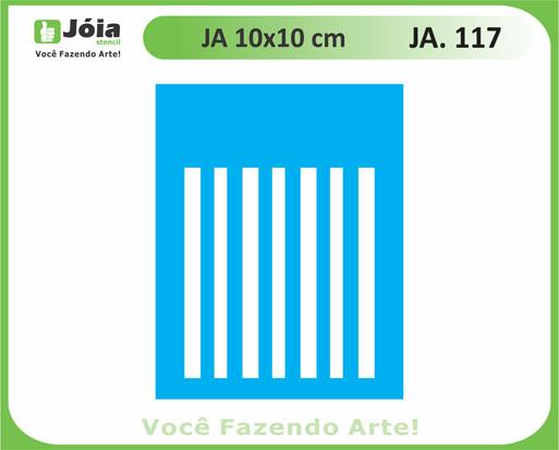 stencil JA 117