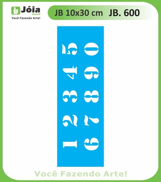 Stencil JB 600