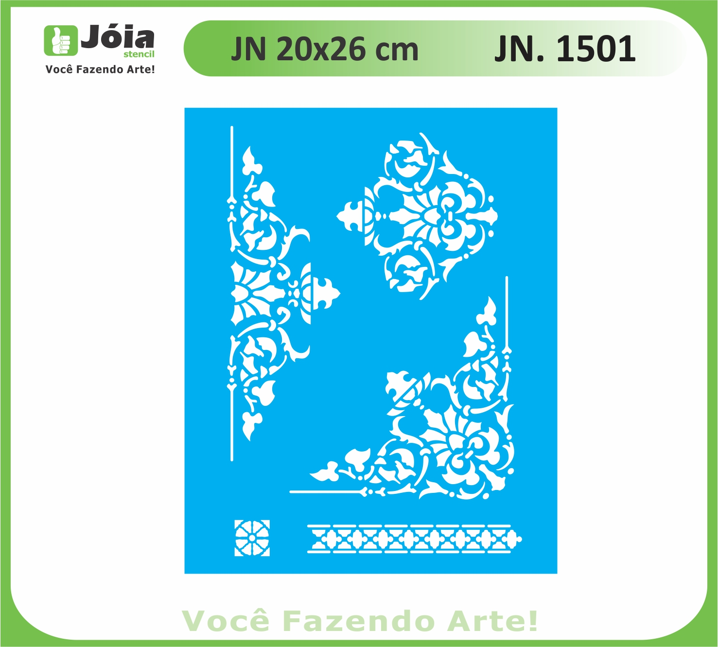 Stencil JN 1501