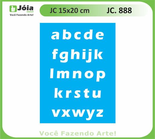 stencil JC 888
