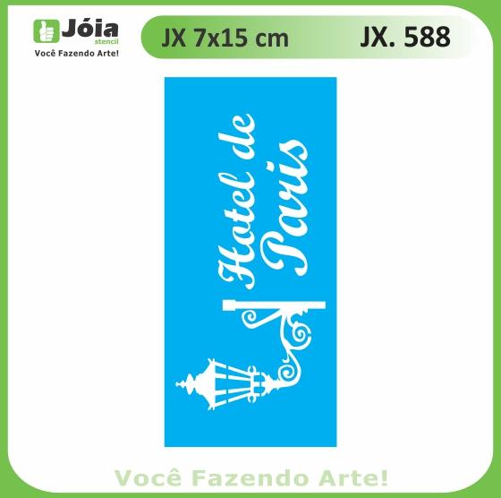 Stencil JX 588