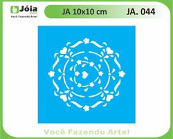 stencil JA 044