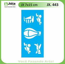 Stencil JX 443
