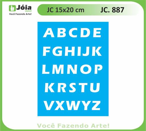 stencil JC 887