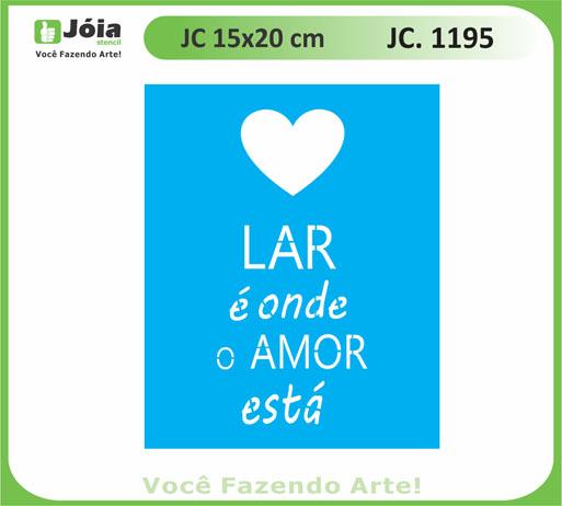 stencil JC 1195