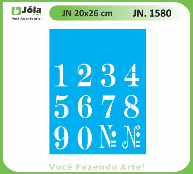 Stencil JN 1580