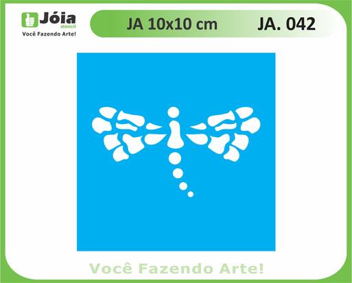 stencil JA 042