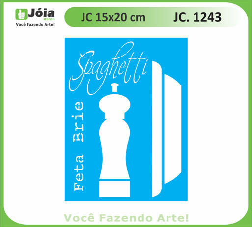 stencil JC 1243