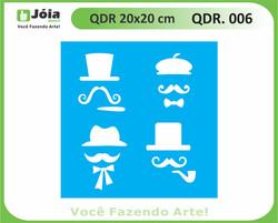 stencil QDR 006