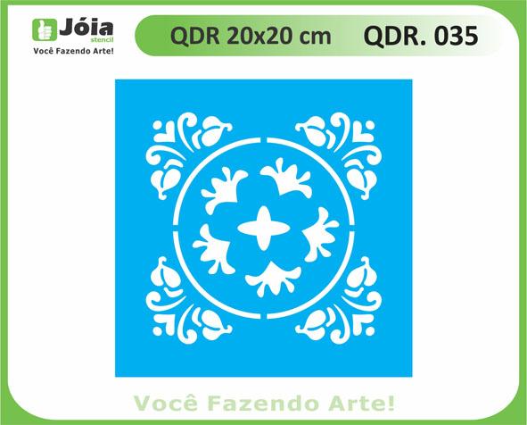 stencil QDR 035