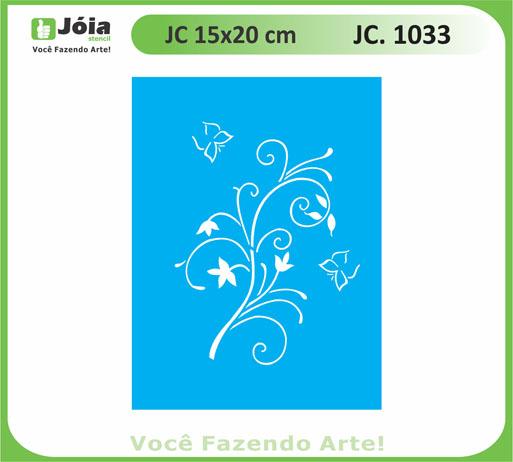 stencil JC 1033