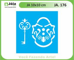 stencil JA 176