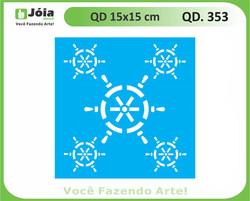 stencil QD 353