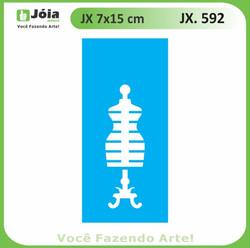 Stencil JX 592