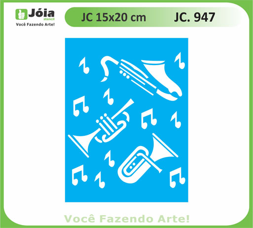 stencil JC 947
