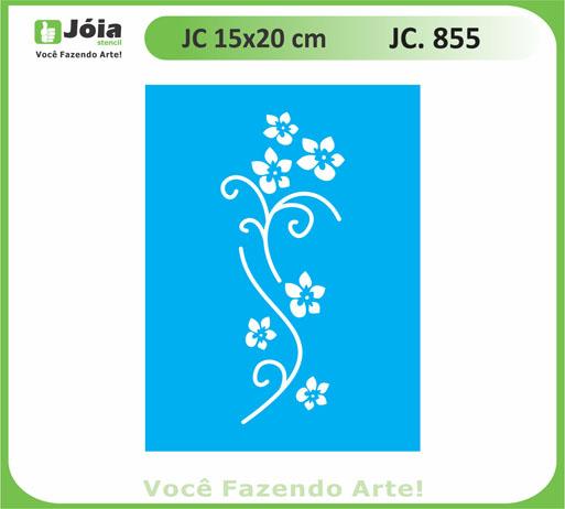 stencil JC 855