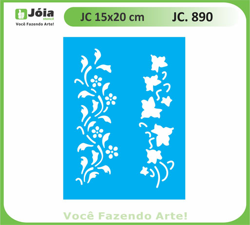 stencil JC 890
