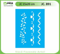 stencil JC 891