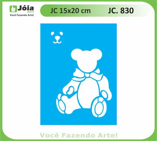 stencil JC 830
