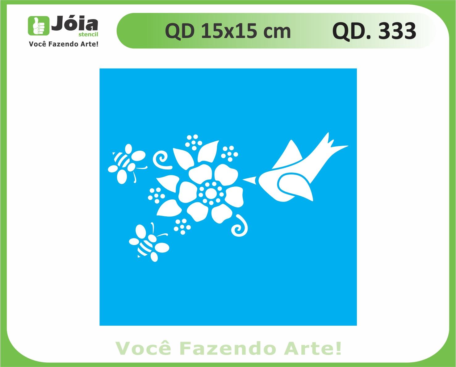 stencil QD 333