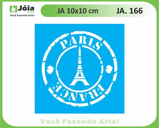 stencil JA 166