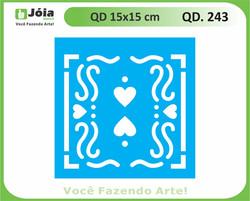 stencil QD 243