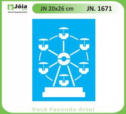 Stencil JN 1671