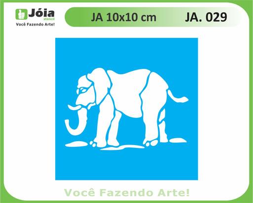 stencil JA 029