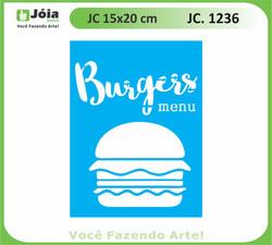 stencil JC 1236