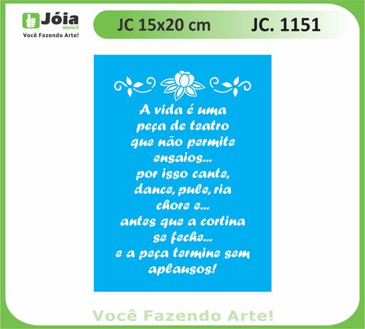 stencil JC 1151
