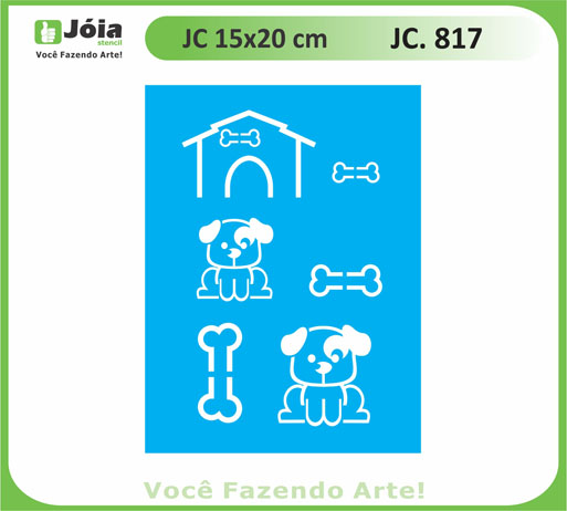 stencil JC 817