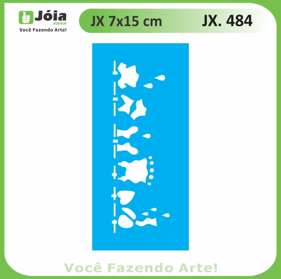 Stencil JX 484