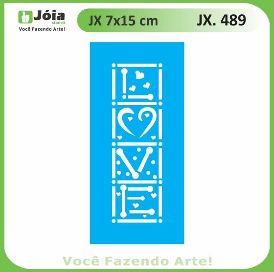 Stencil JX 489