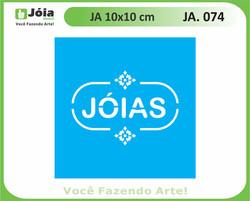 stencil JA 074