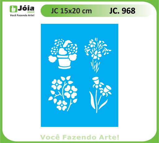 stencil JC 968