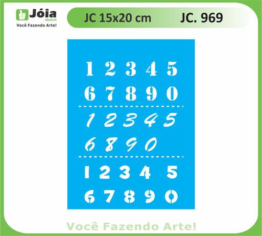 stencil JC 969