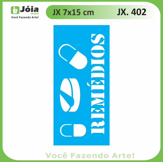 Stencil JX 402