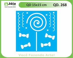 stencil QD 268