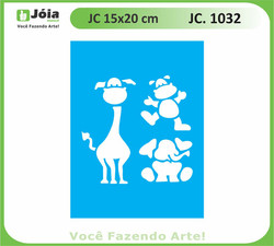 stencil JC 1032