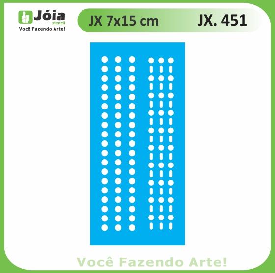 Stencil JX 451