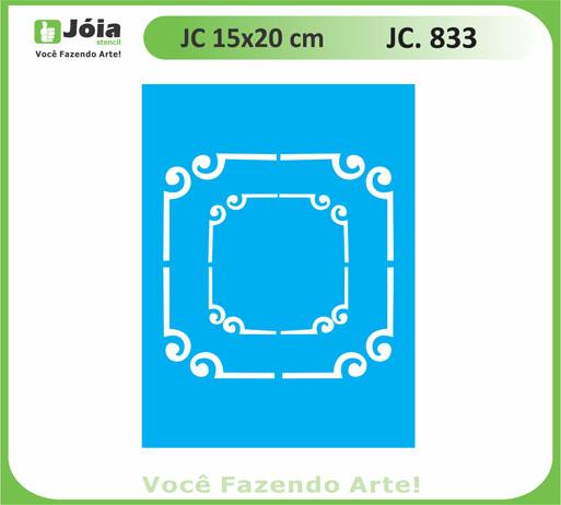 stencil JC 833