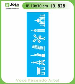Stencil JB 828