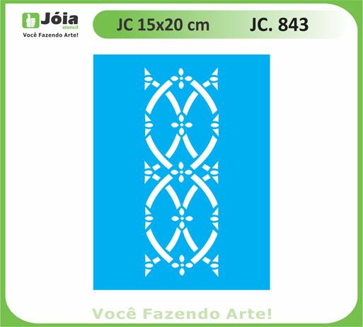 stencil JC 843