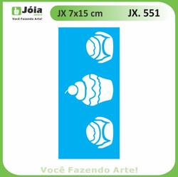 Stencil JX 551