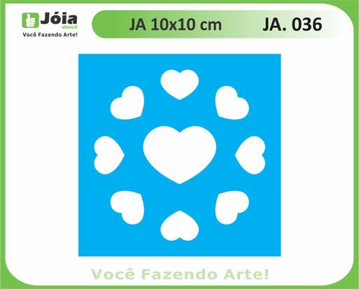stencil JA 036