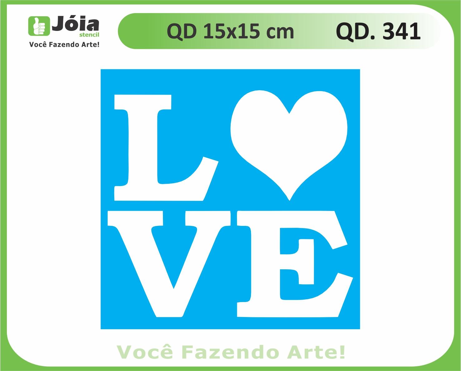 stencil QD 341