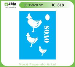 stencil JC 818